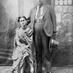 Diego e Frida il giorno del matrimonio